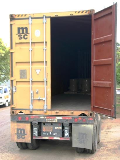 camion cargado