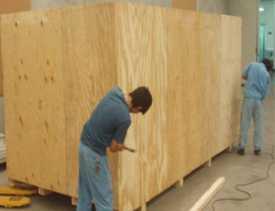 Embalamos maquinaria y equipos grandes